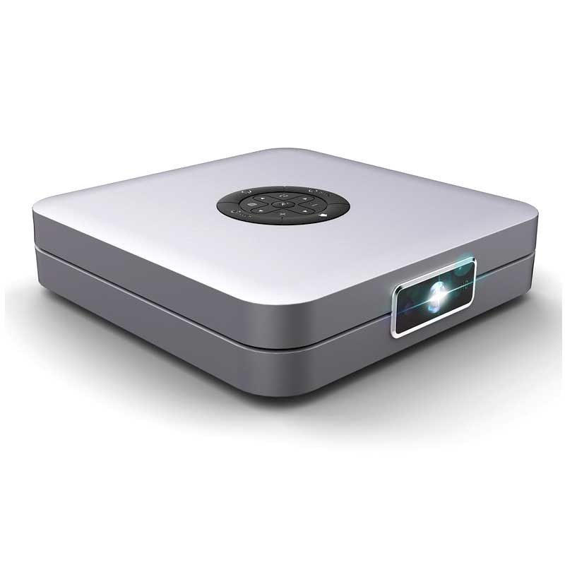 High Brightness 300 Ansi Lumens Mini HD Android DLP Miracast Projector