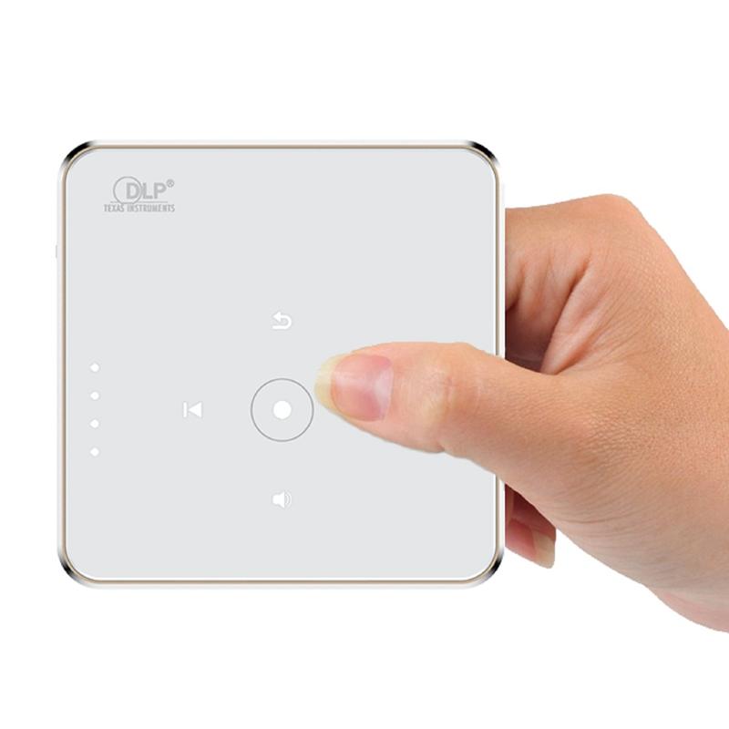 SM35 DLP LED Mini Pocket Smart Projector