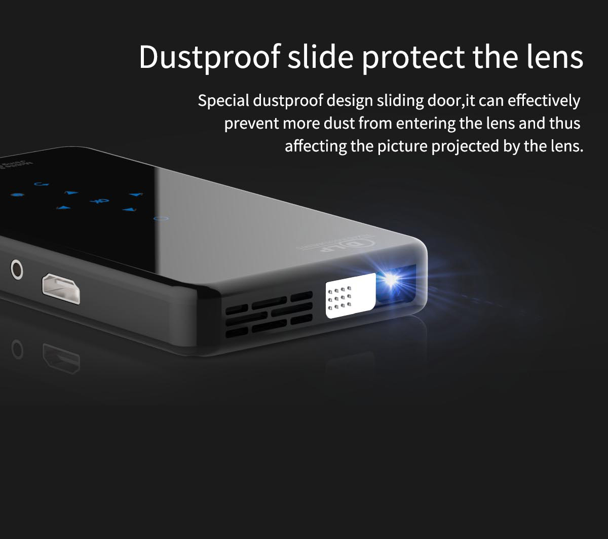 Mini Pocket DLP Android Projector X2